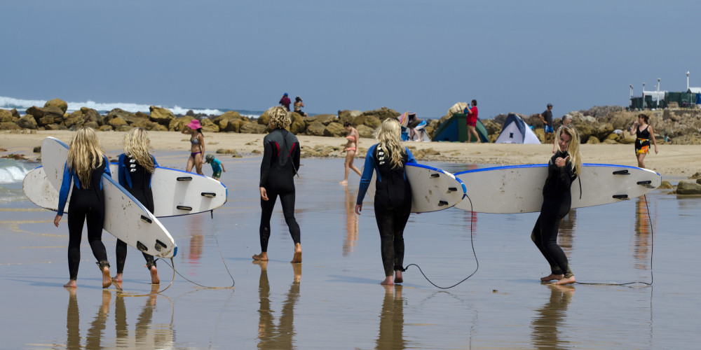 learn how to surf at buffalo bay