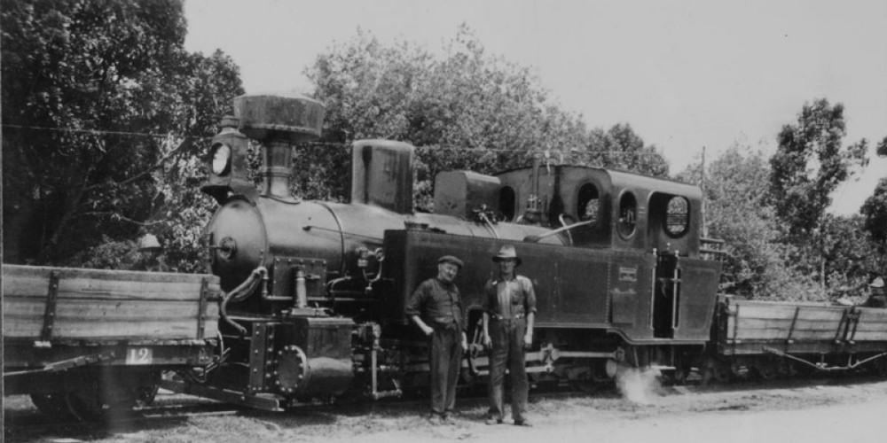Knysna's railway history