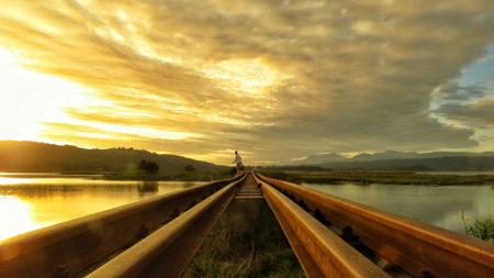 Sedgefield train bridge