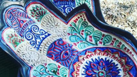 Lesley Etherington pottery, Gouna