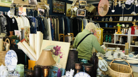 The Knysna Hospice Shop - corner of Long and Market Streets