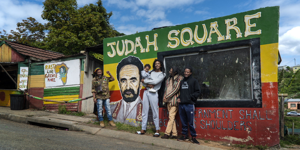 the judah square rastafarian community