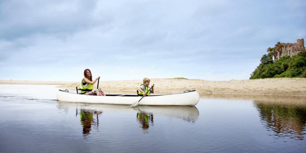 Canoeing o n the Noetzie River