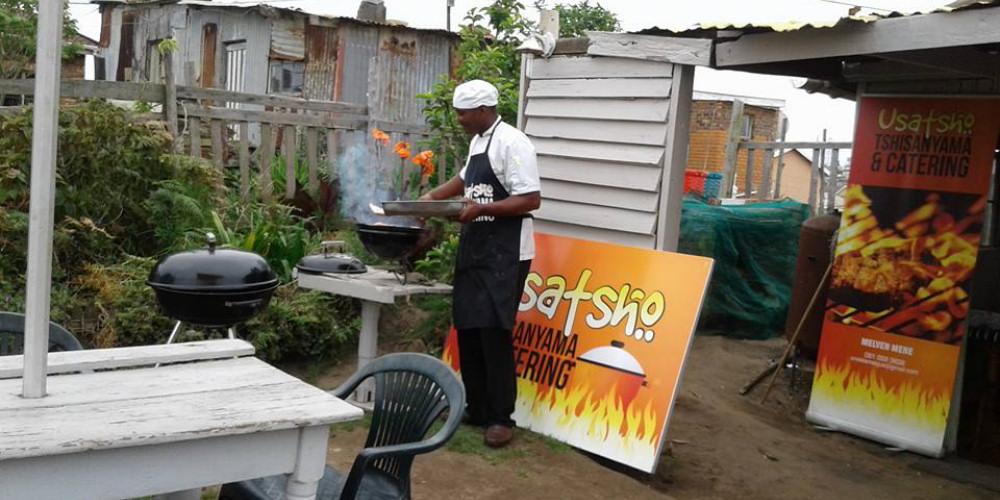 Local chef Melvin Mene